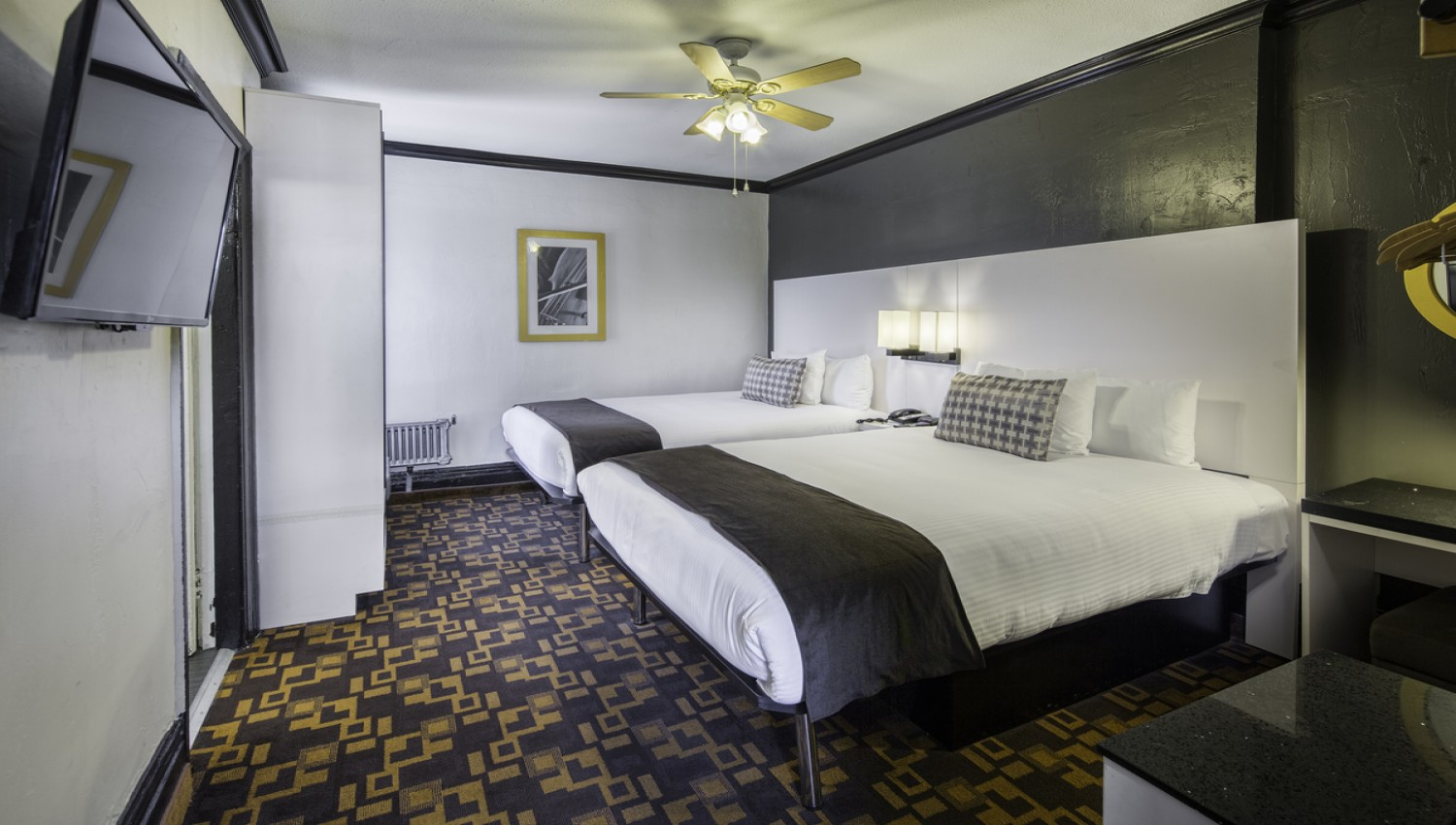Two Queen Beds At The Adante Hotel San Francisco