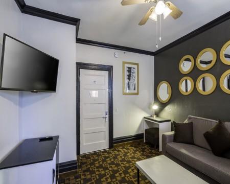 Junior King Suite Room at the Adante Hotel